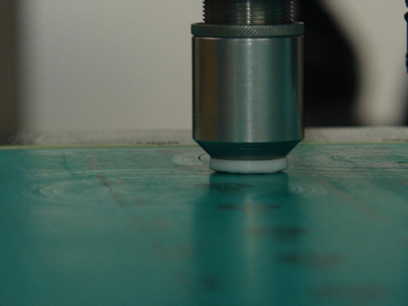 Wycinanie uszczelek z płyty olejoodpornej