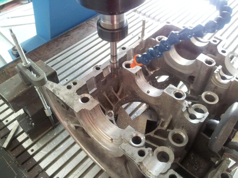 Frezowanie bloku silnika