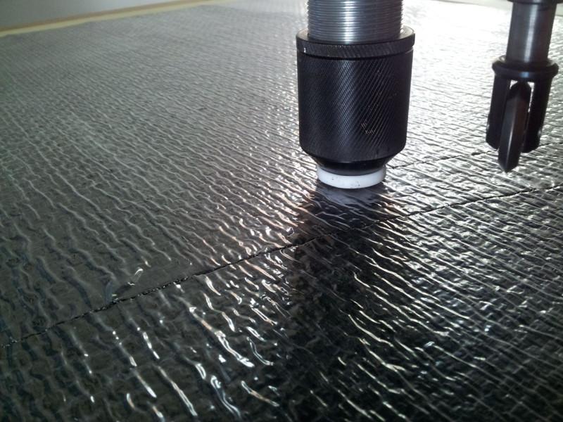 Wycinanie uszczelek w płycie odpornej na 1000 C